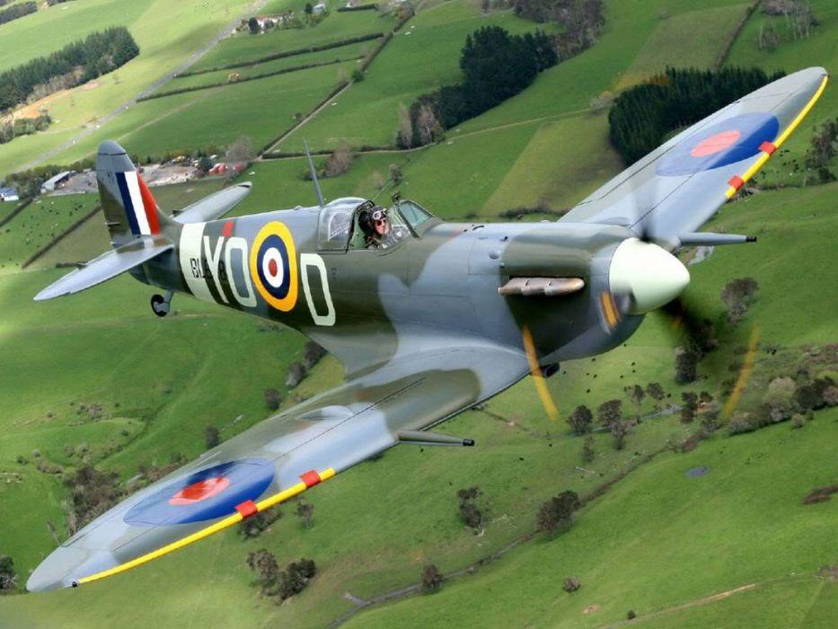aircraft World War II planes wallpaper