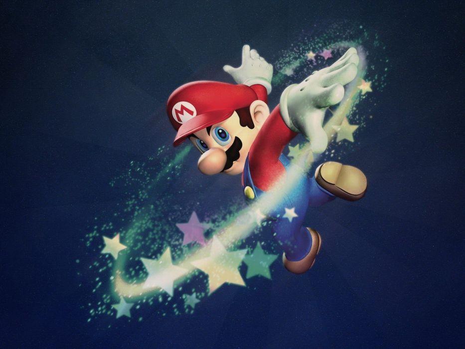 Mario digital art wallpaper