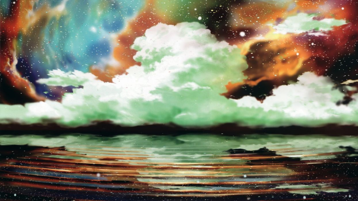 clouds scenic artwork skyscapes wallpaper