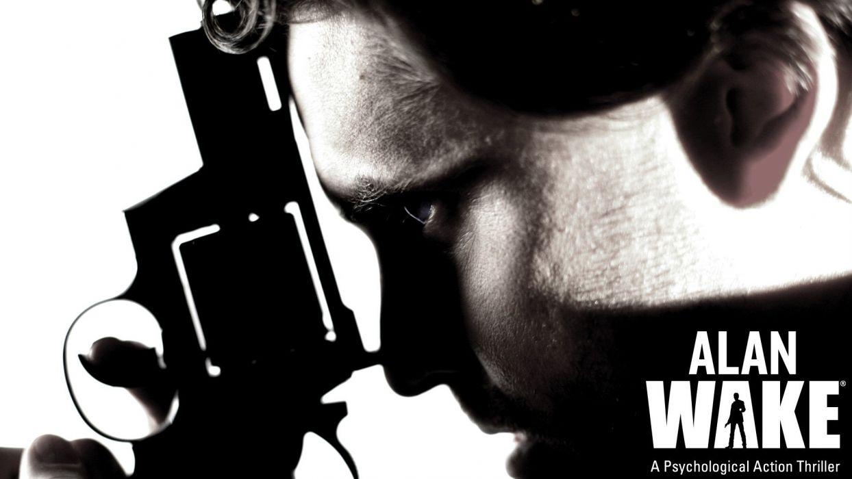 video games Alan Wake remedy entertainment wallpaper