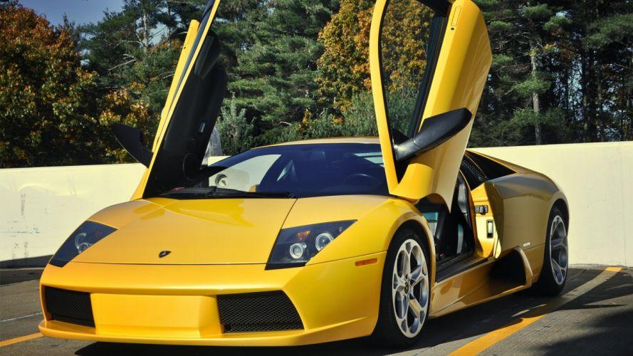 cars vehicles wheels Lamborghini Murcielago automobiles wallpaper