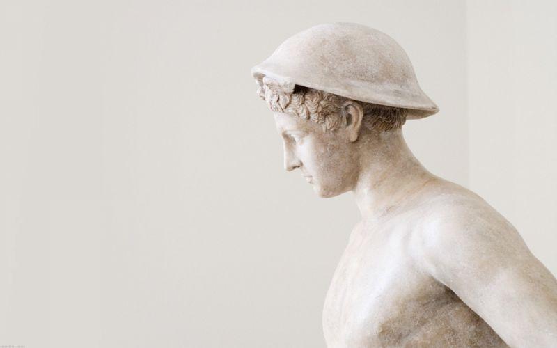 statues Mercury gods wallpaper
