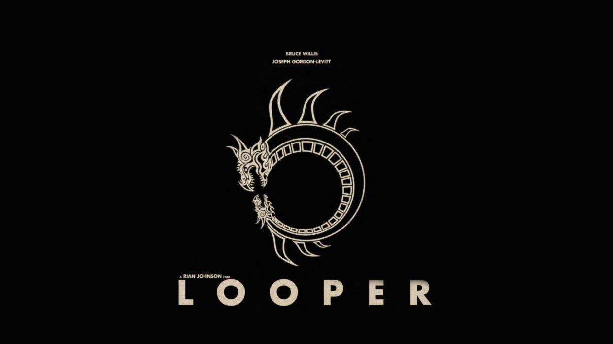 movie posters Looper wallpaper