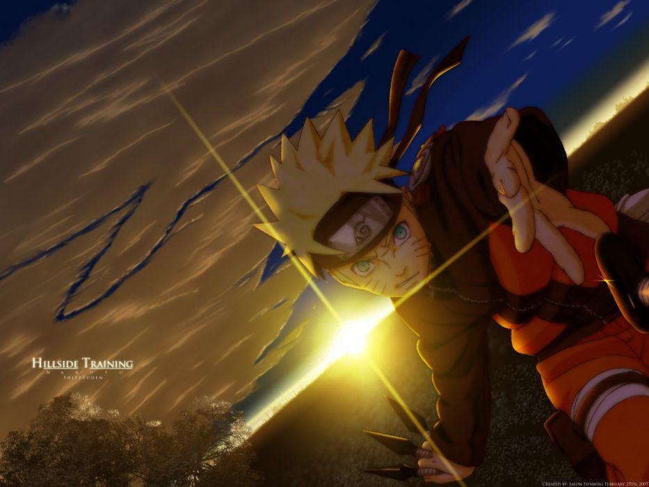 Naruto: Shippuden Uzumaki Naruto wallpaper