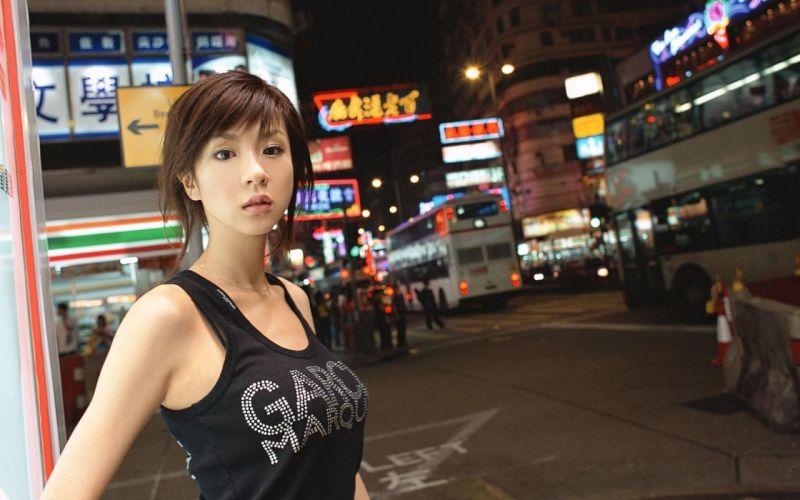 Aki Hoshino Asians Asia wallpaper