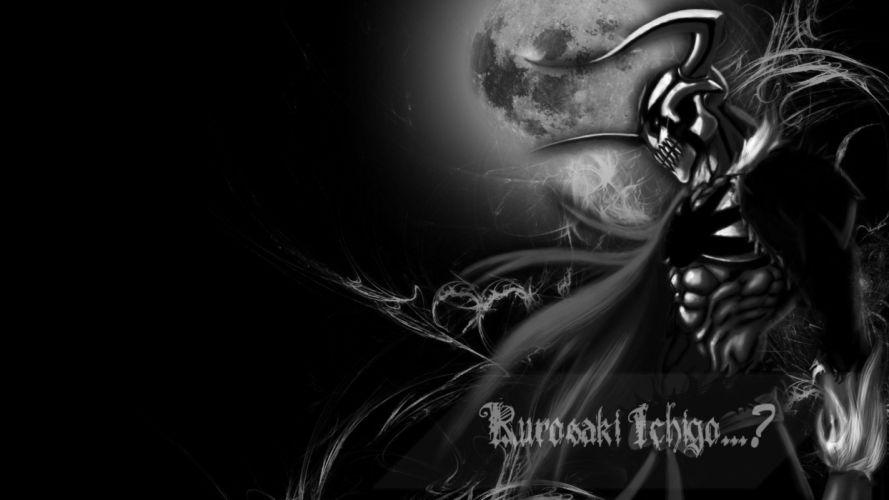 Bleach Moon Kurosaki Ichigo horns manga Hollow Ichigo VastoLorde wallpaper