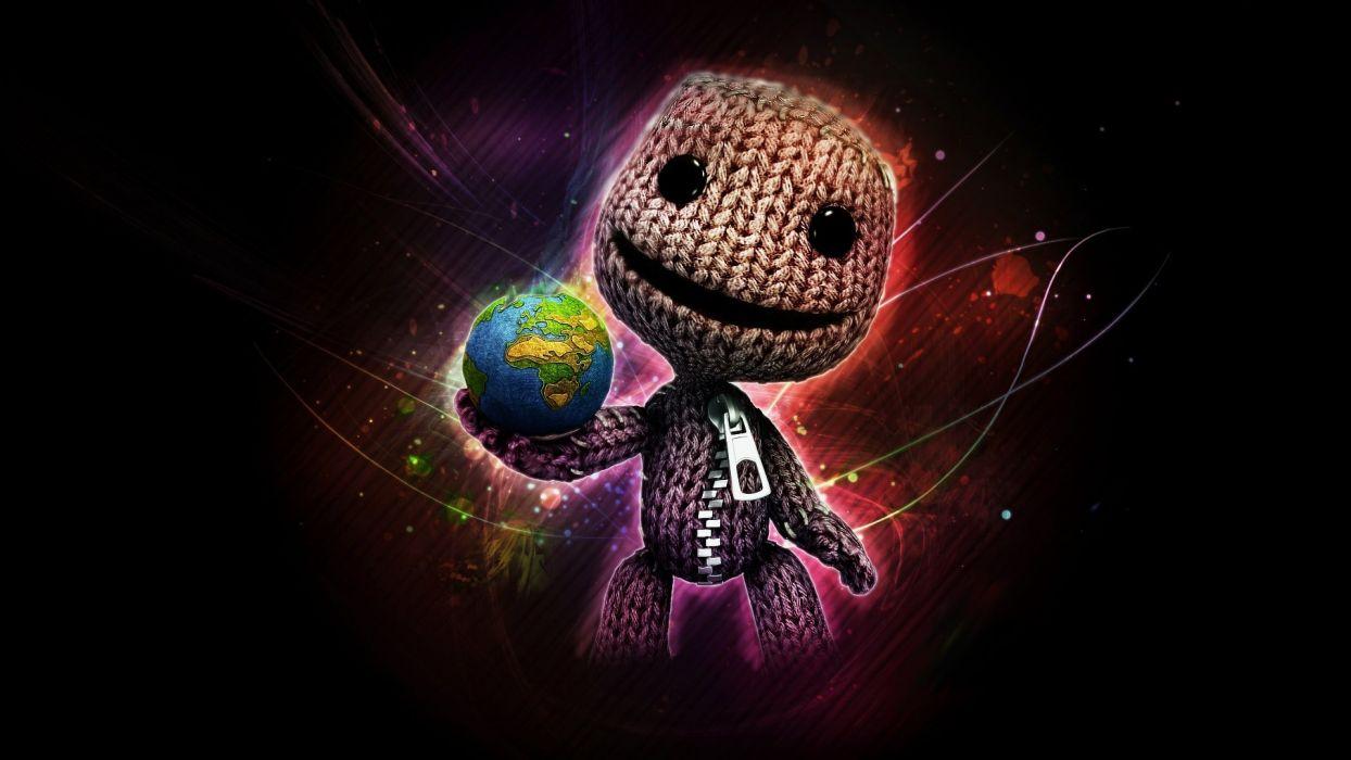 Little Big Planet Sackboy wallpaper