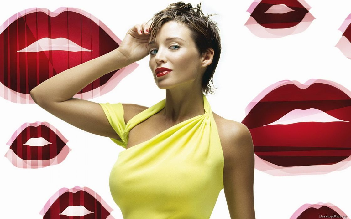 brunettes women models Dannii Minogue wallpaper