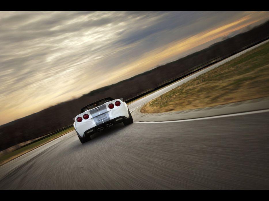 convertible Chevrolet Corvette wallpaper