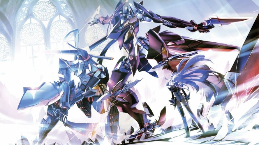 video games Xenosaga artwork wallpaper