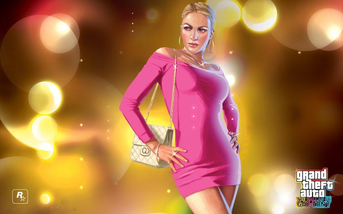 blondes women video games Grand Theft Auto GTA IV The Ballad of Gay Tony wallpaper