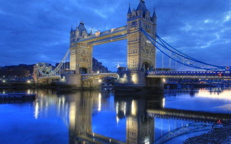 architecture London Tower Bridge wallpaper