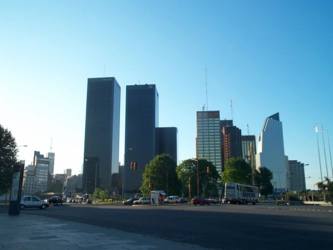 cityscapes Buenos Aires wallpaper