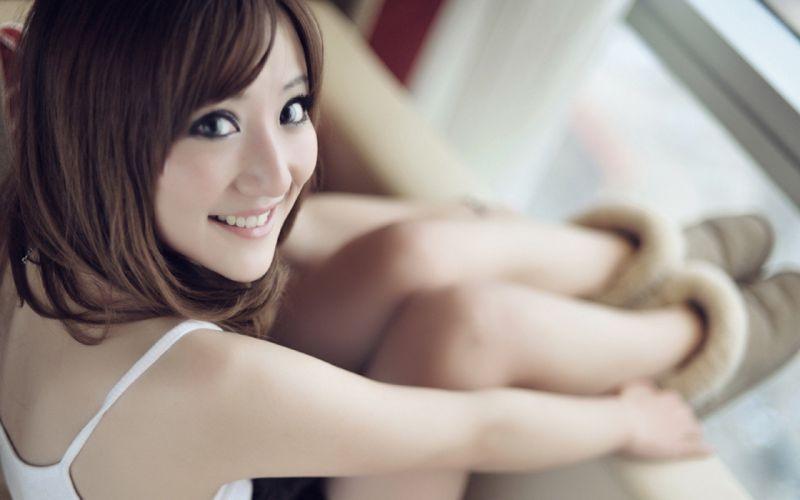 women models big eyes wallpaper