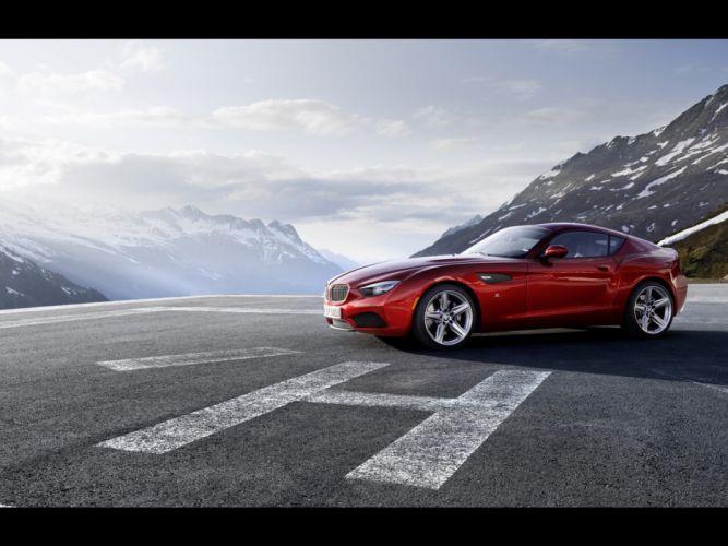 BMW cars supercars Zagato coupe static BWM Zagato Coupe wallpaper