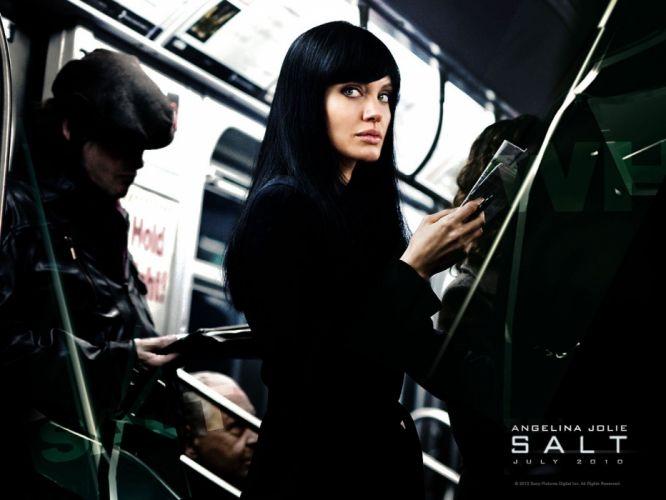 Angelina Jolie Salt (movie) wallpaper