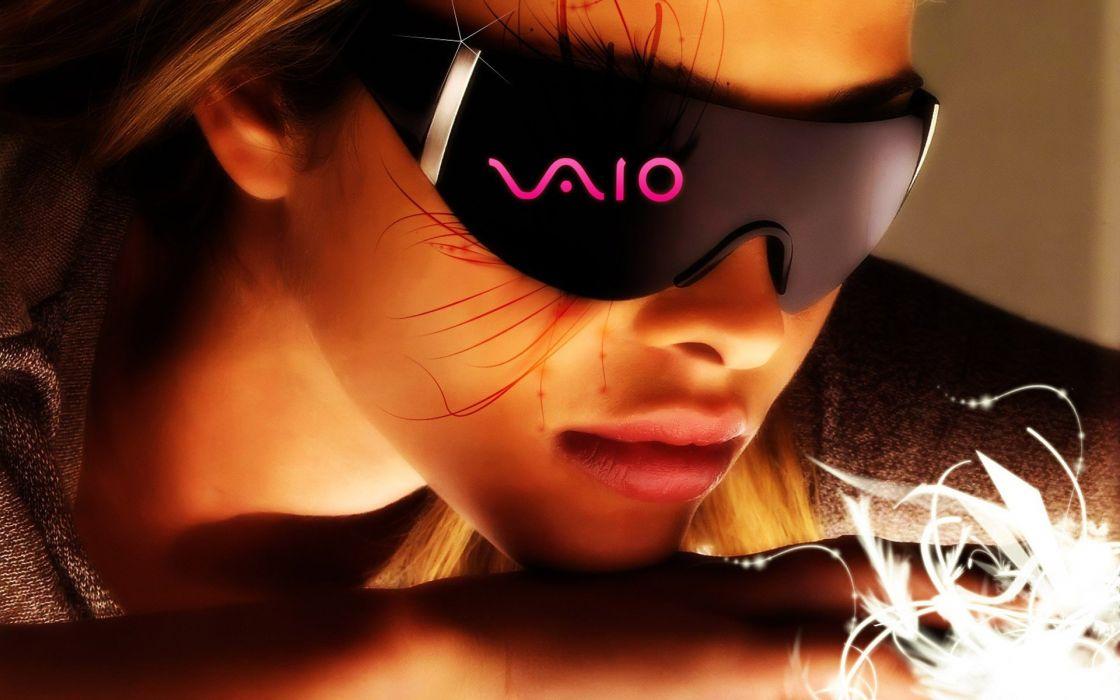 sunglasses Ana Beatriz Barros Sony VAIO wallpaper