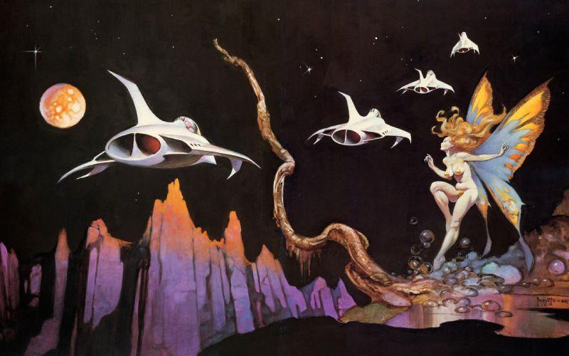 fantasy art Frank Frazetta wallpaper