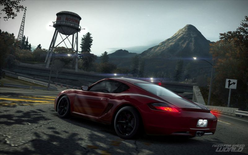 Porsche Cayman S Need for Speed World wallpaper