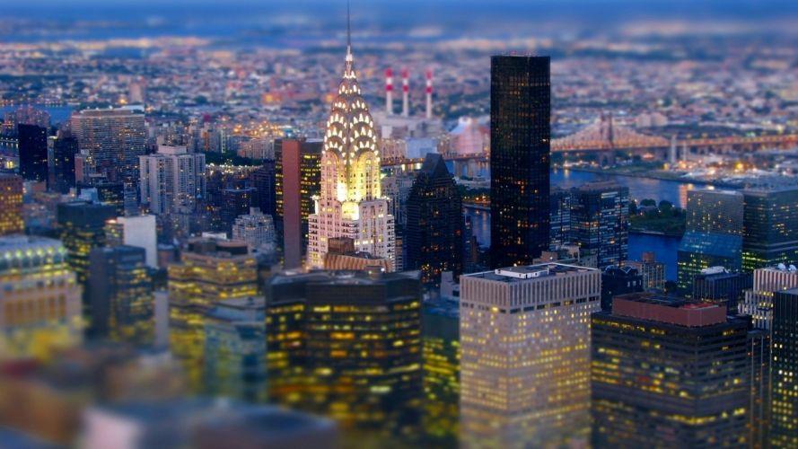 cityscapes New York City Chrysler Building wallpaper
