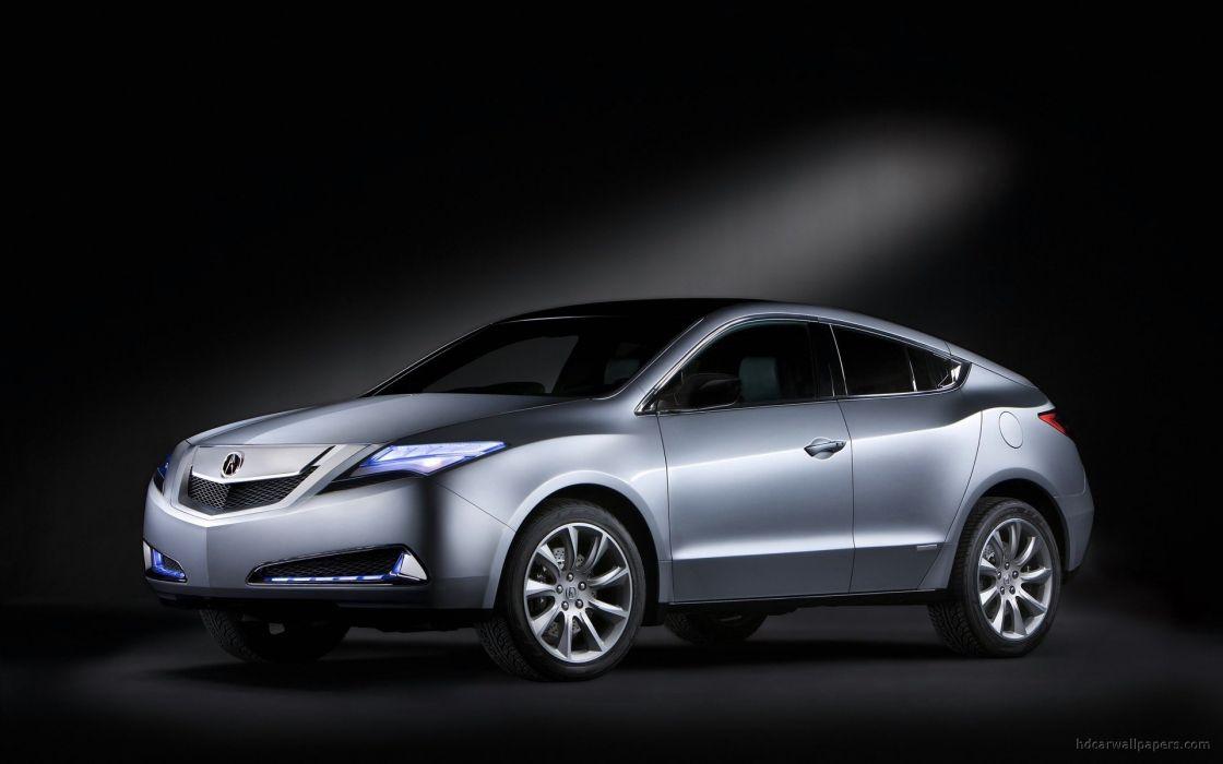 cars vehicles Acura prototype Acura ZDX wallpaper