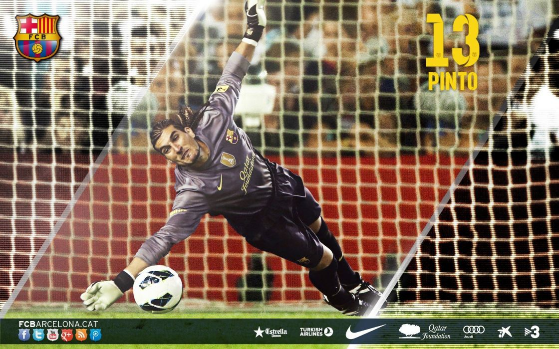 sports FC Barcelona football teams Pinto wallpaper