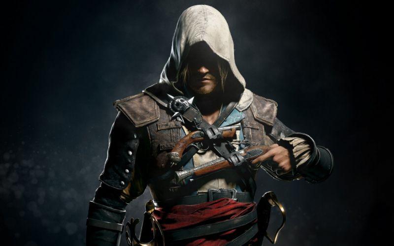 video games pistols Assassins Creed assassins pirates Ubisoft Assassins Creed 4: Black Flag Edward Kenway wallpaper