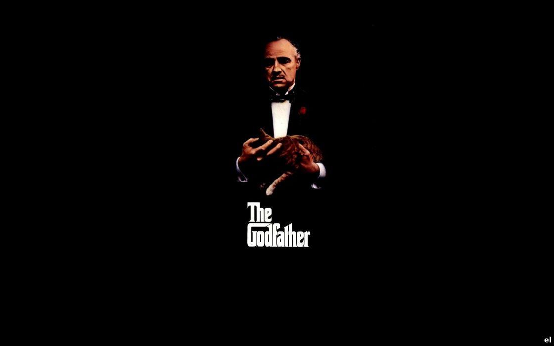 movies The Godfather Marlon Brando wallpaper