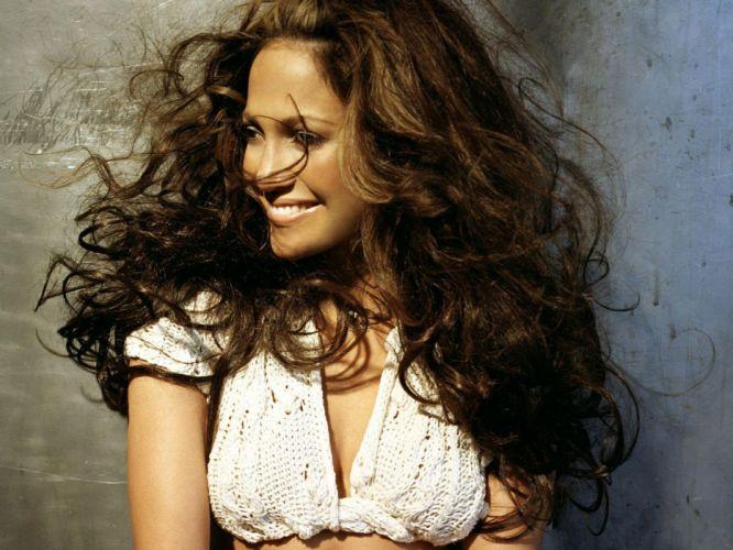 brunettes long hair Jennifer Lopez singers wallpaper