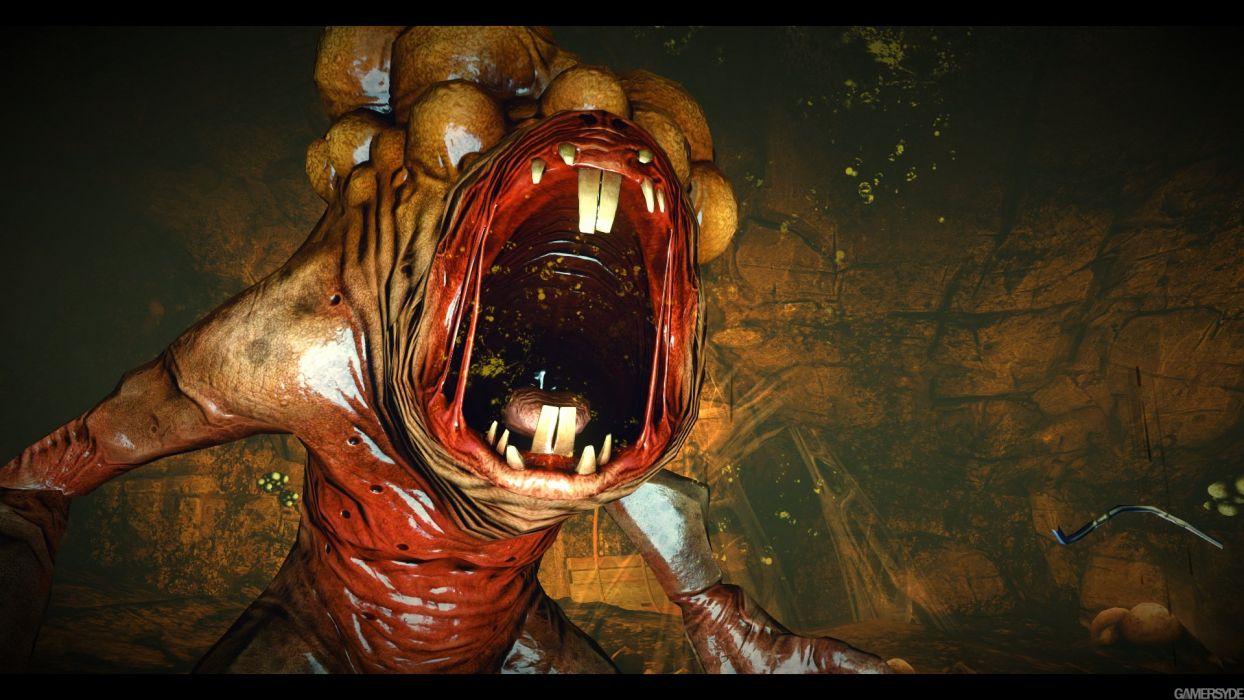 MARS WAR LOGS sci-fi cyberpunk futuristic monster wallpaper