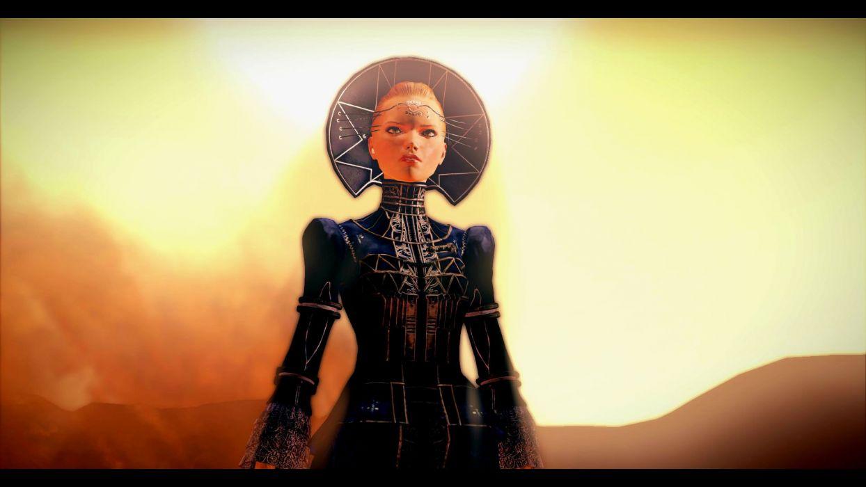 MARS WAR LOGS sci-fi cyberpunk futuristic cyborg robot wallpaper