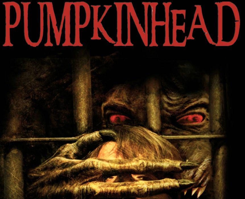 PUMPKINHEAD horror movie film dark monster halloween poster wallpaper
