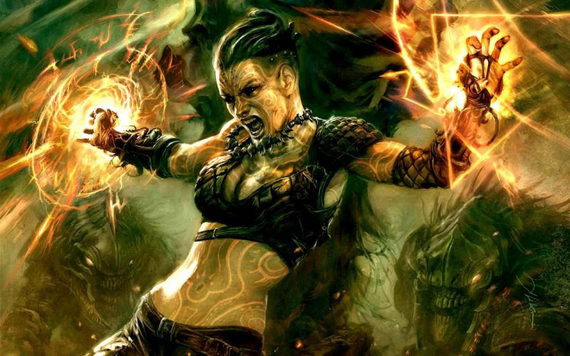 HELLGATE LONDON fantasy action sci-fi warrior magic wallpaper