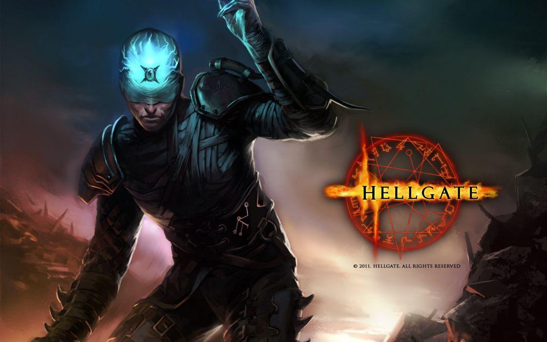 HELLGATE LONDON fantasy action sci-fi poster wallpaper