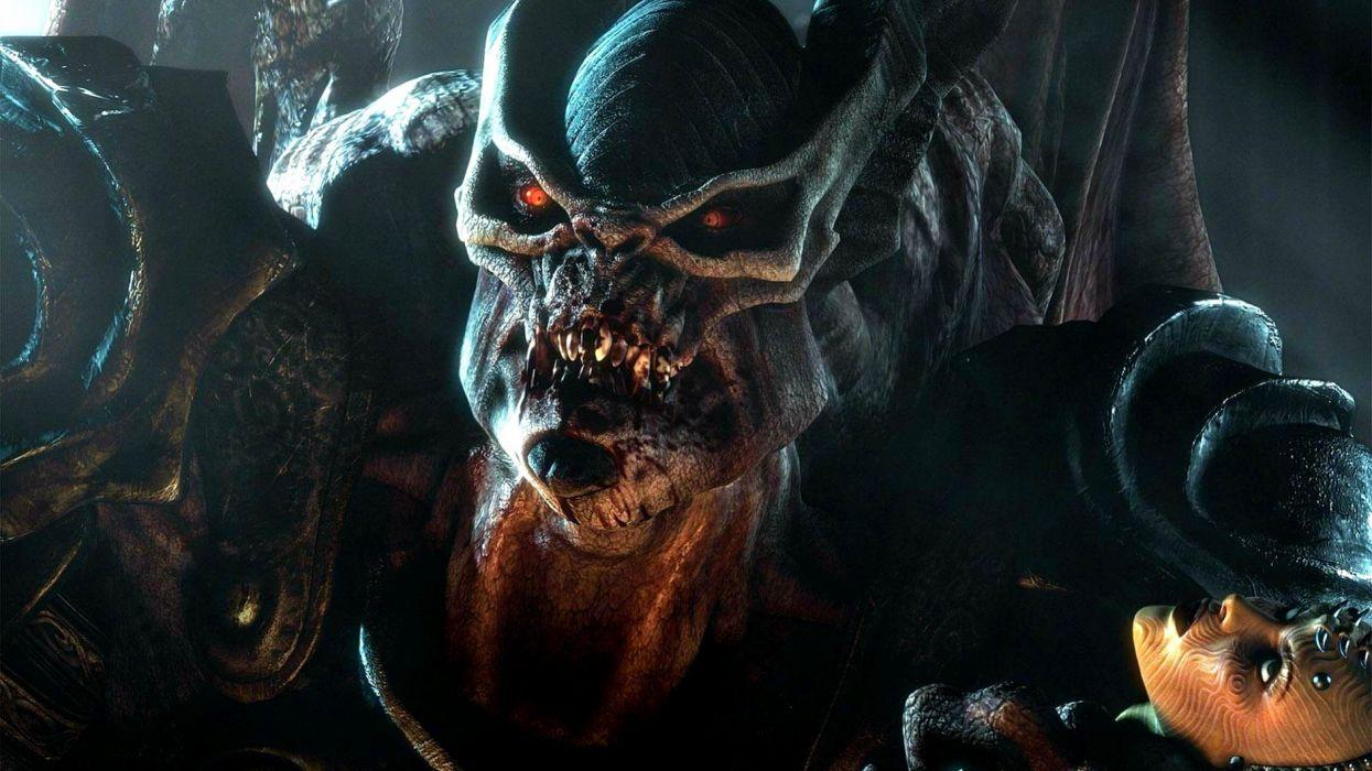 HELLGATE LONDON fantasy action sci-fi monster demon dark wallpaper