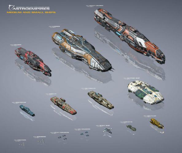 ASTRO EMPIRE ONLINE sci-fi mmo futuristic game spaceship poster wallpaper