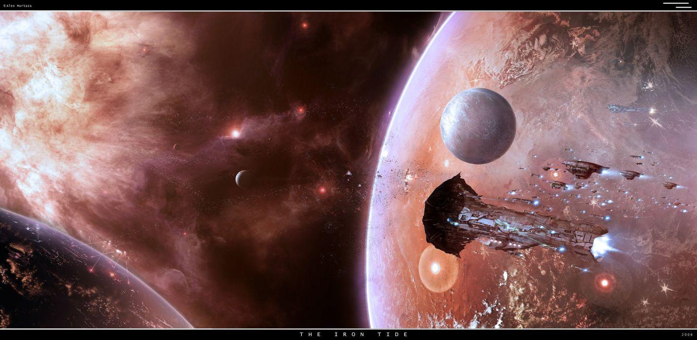 ASTRO EMPIRE ONLINE sci-fi mmo futuristic game spaceship planet nebula wallpaper