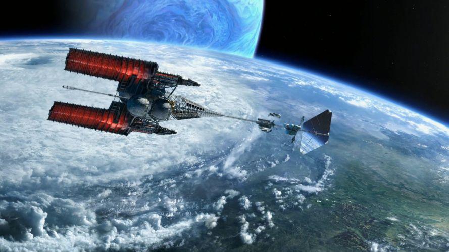 ASTRO EMPIRES ONLINE sci-fi mmo spaceship planet wallpaper