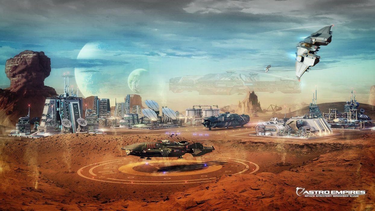 ASTRO EMPIRES ONLINE sci-fi mmo wallpaper