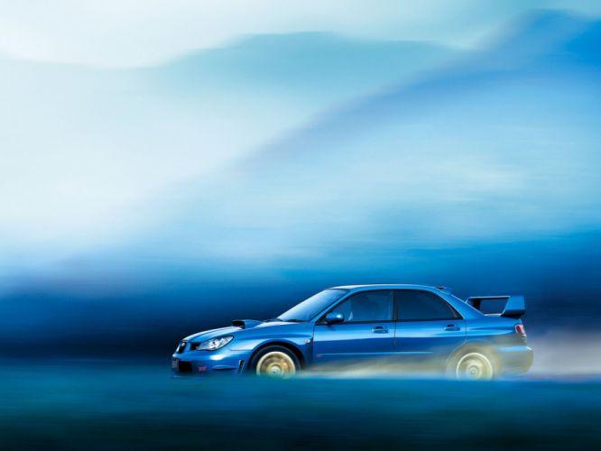cars Subaru vehicles side view Subaru Impreza WRX STI wallpaper