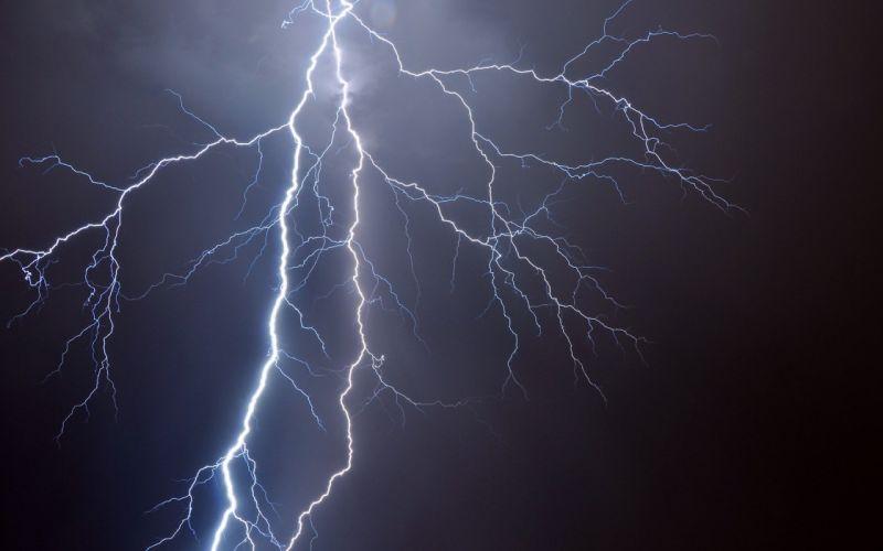 nature night lightning skyscapes wallpaper
