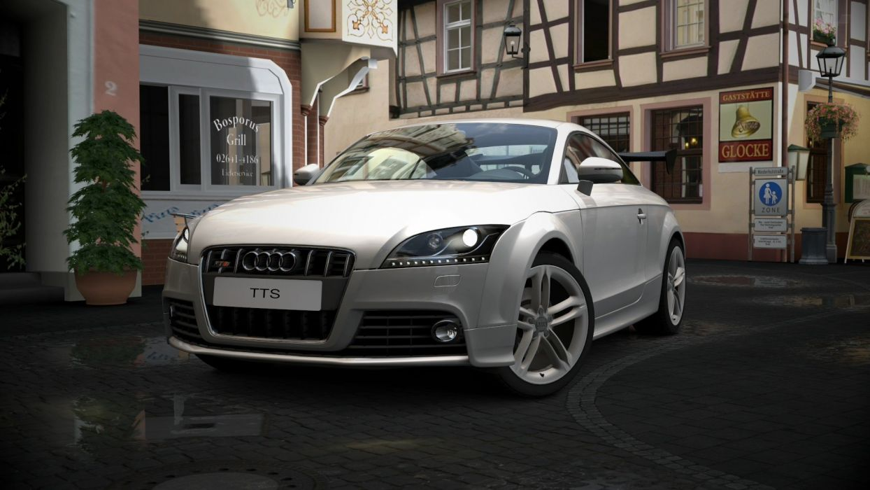 video games cars vehicles Audi TT Gran Turismo 5 Playstation 3 wallpaper