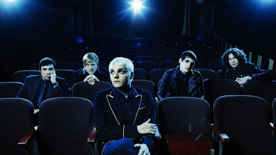 My Chemical Romance theater wallpaper