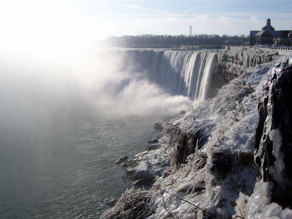 nature waterfalls rivers wallpaper