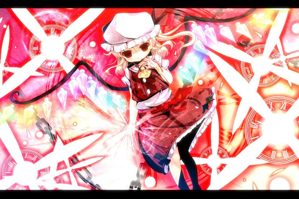 Touhou vampires Flandre Scarlet wallpaper