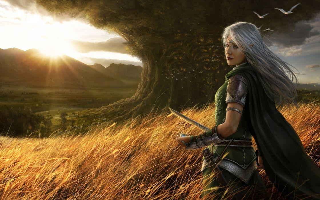 elfen girl wallpaper
