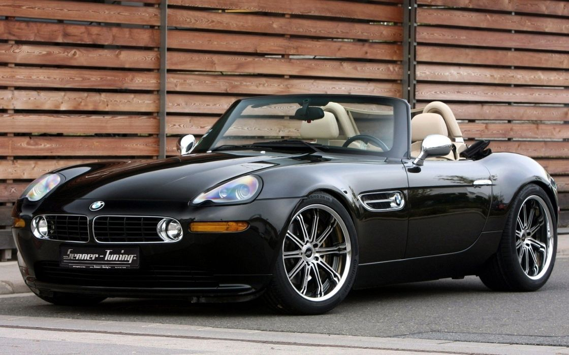 BMW cars tuning BMW Z8 roadster black cars wallpaper