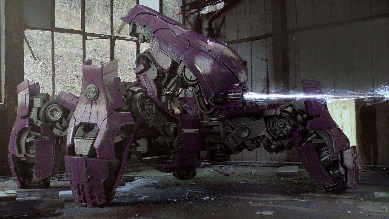 Military Robots Purple Halo War Machine Halo Wars Covenant Locust