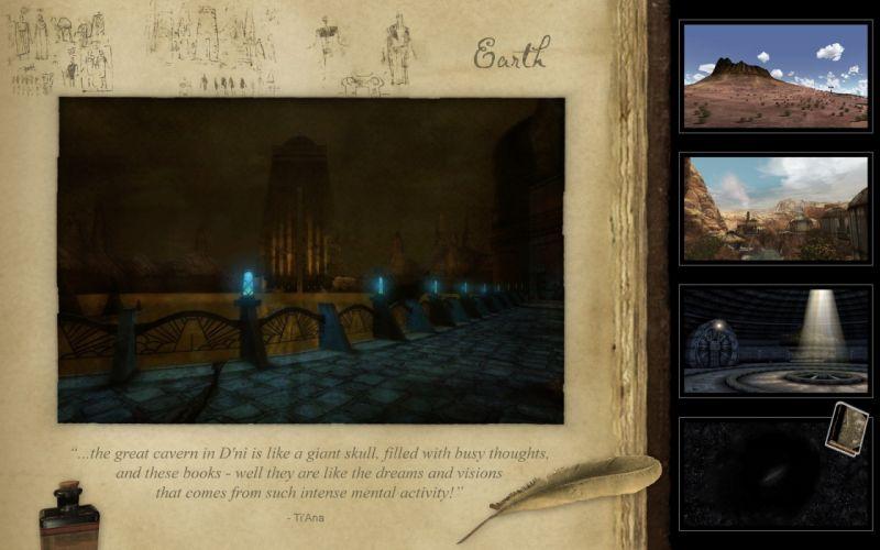 video games Earth myst URU wallpaper