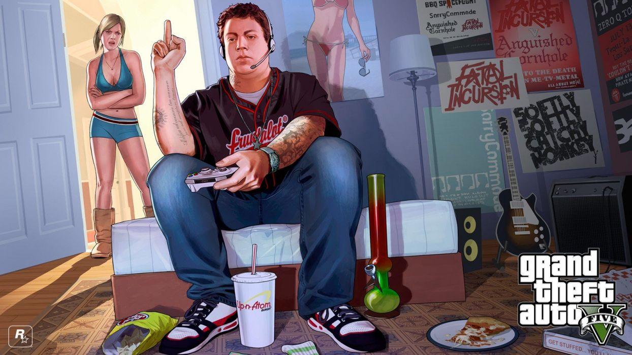 Grand Theft Auto Rockstar Games jimmy wallpaper